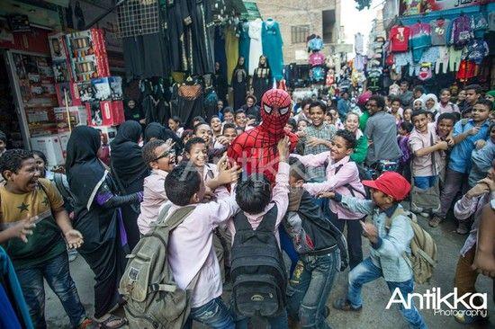 エジプトの「スパイダーマン」に関連した画像-10