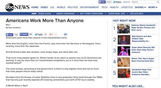 アメリカ人は他の誰よりも多く働いているに関連した画像-02