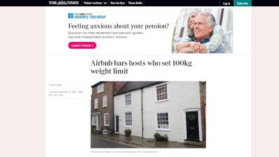 Airbnb 体重 イングランドに関連した画像-02
