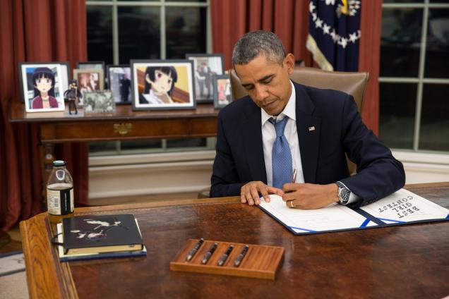 オバマ大統領が日本のアニメを感謝に関連した画像-03