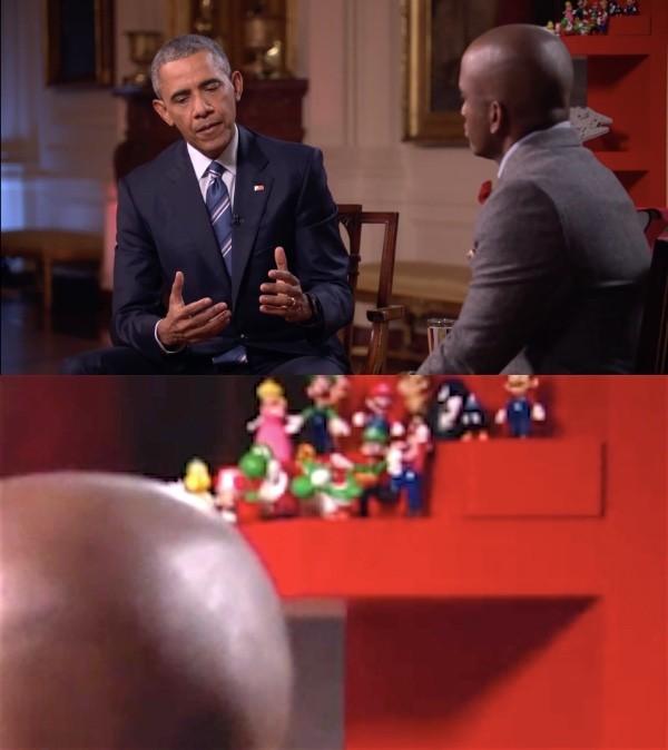 オバマ大統領が任天堂のフィギュアを集めていたに関連した画像-04