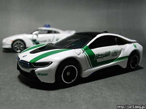 AEONイオン限定トミカ・BMW_i8ドバイ警察仕様_01