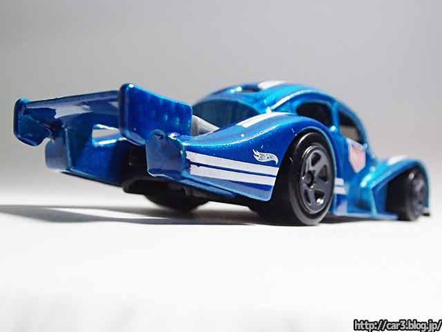 車×3(轟Car3)ホットウィールのフォルクス・ワーゲン・ケーファー・レーサーは架空のレーシング・ビートル【Hotwheels Volkswagen Käfer Racer】