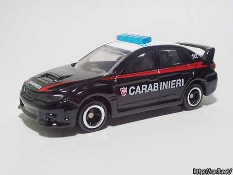 イオン限定トミカ_インプレッサWRX_イタリア警察_02