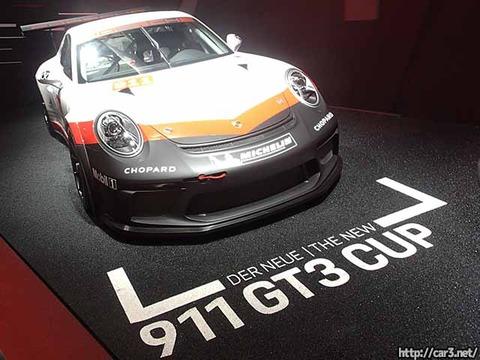ポルシェ911GT3cup東京モーターショー2017_01