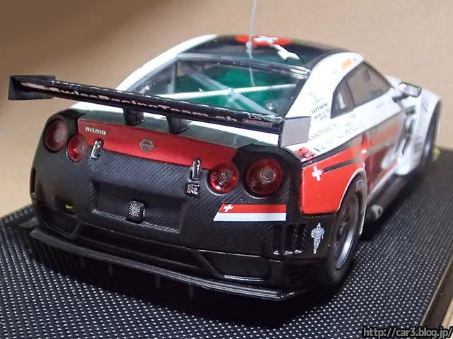 EBBRO NISSAN GT-R GT1 2010 SWI...