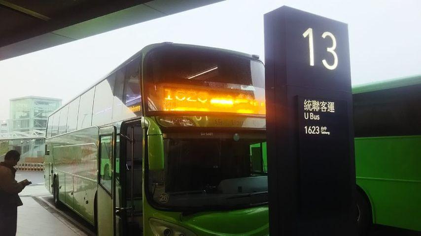 台中行バス乗り場