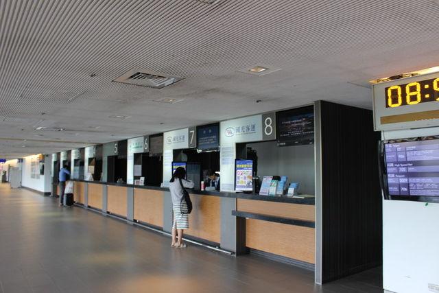 桃園国際空港バスチケット売り場