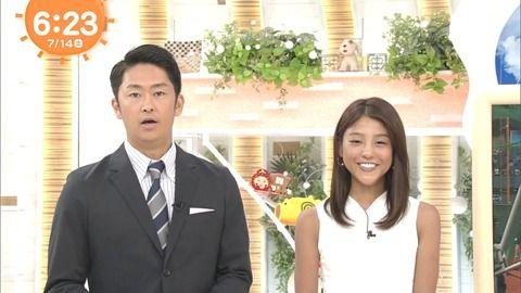 「めざましどようび」の岡副麻希アナが今日も黒くて実況民絶叫(画像)