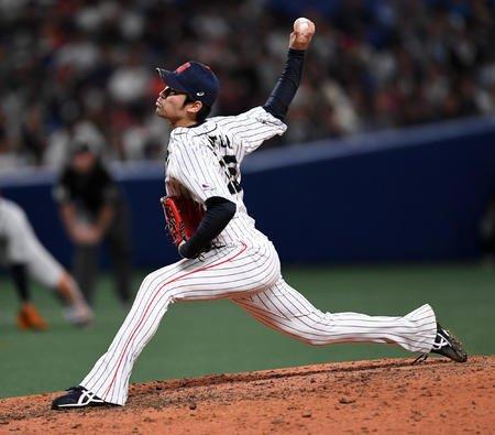 【日米野球】中日佐藤、ようやっとる