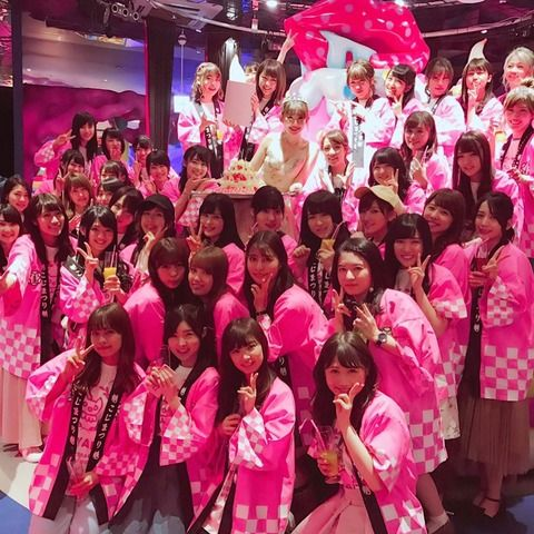 小嶋陽菜卒業打ち上げに参加したメンバーがこちらですwww(画像)