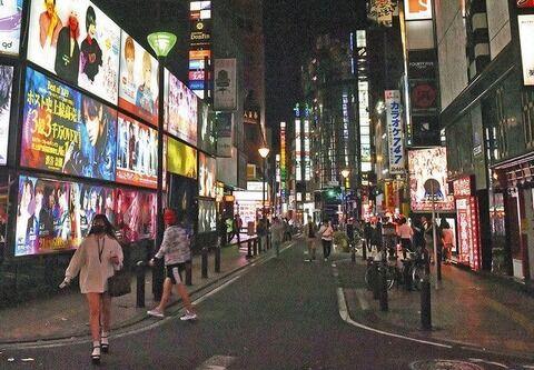 【新型コロナ】歌舞伎町 約240店あるホストクラブを中心にクラスターが発生、感染者数は累計で数百人に