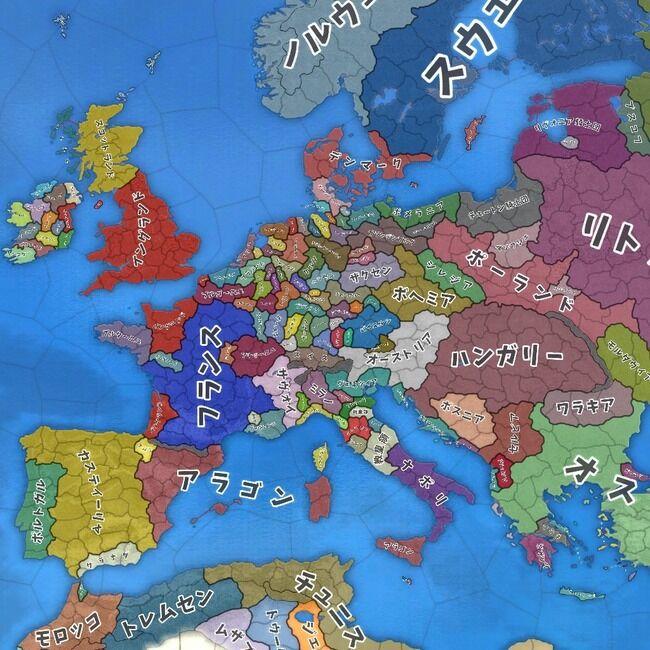 【画像】1444年のヨーロッパ