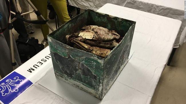 【百年前のタイムカプセル発見】中には南部連合ゆかりの品々 米ルイジアナ州