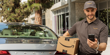 【アマゾン】車のトランクに商品を配達するサービスを開始