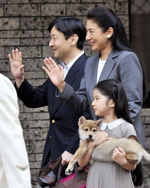 愛子さまの愛犬ってめっちゃ可愛いな(画像)