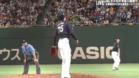 【日米野球】中日の佐藤優とかいうメンタルの弱い中継ぎ