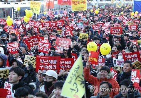 【韓国の反応】「憲法裁を圧迫する必要がある!」韓国のろうそくデモ、次は憲法裁判所へと向かうもよう「まだ弾劾が最終決定したわけでなない」