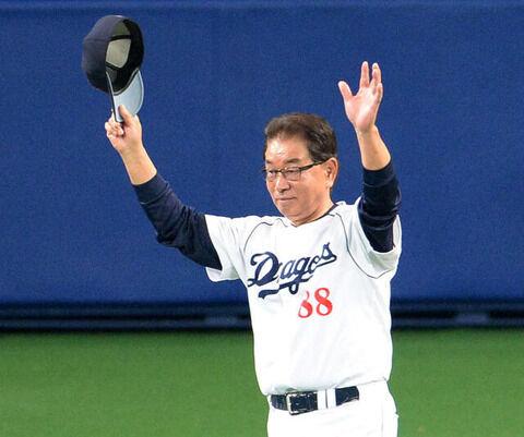 2013年の高木守道さん「(東京五輪は)7年後か。見られないかもしれないな。」