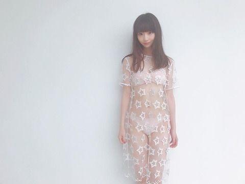 NGT荻野由佳さん、変態衣装を着せられてしまう(画像)