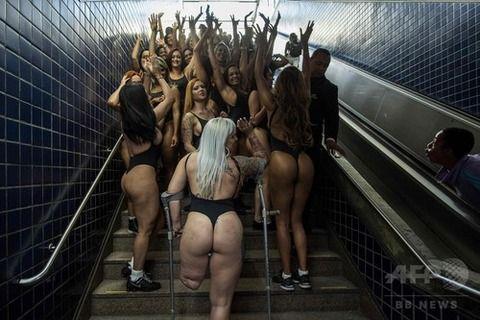 ブラジル一の「美尻」を競うコンテスト、州代表が勢ぞろい(画像あり)