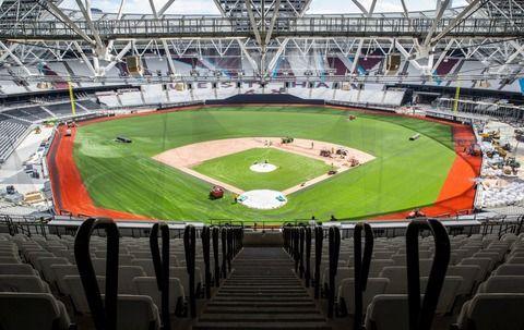 今月末のMLBロンドンシリーズの球場wwww