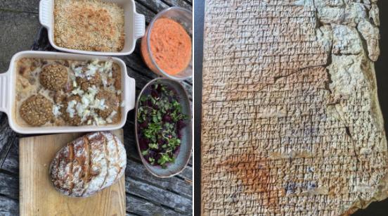 【実験考古学】約3800年前の「世界最古のレシピ」に書かれたバビロニア料理を再現! 意外と美味しそう。