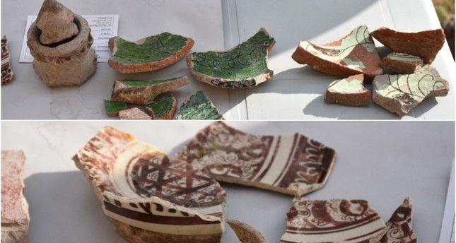 【古代文明】トルコとアルメニアの国境にあった幻の古代都市アニで発掘されたセルジューク帝国の陶器