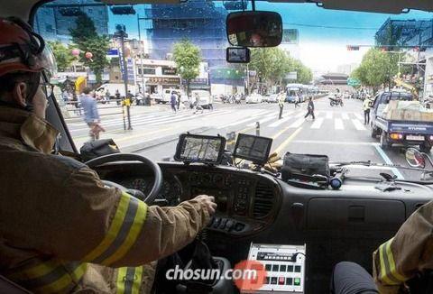 【韓国の反応】サイレン鳴ってもお構いなし、消防車に道を譲らない韓国人