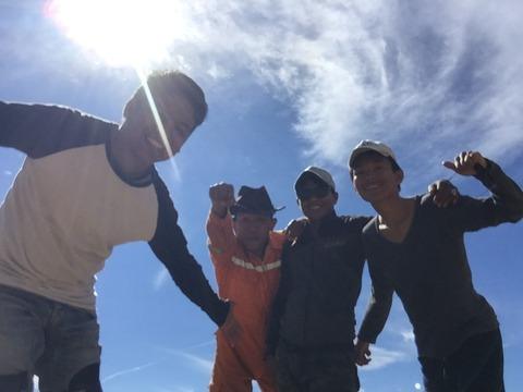 team climb