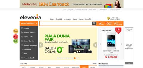 elevenia - Surga Belanja Online Anda