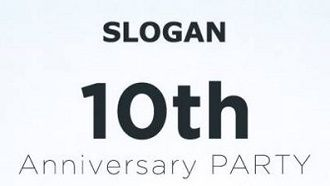 slogan10th