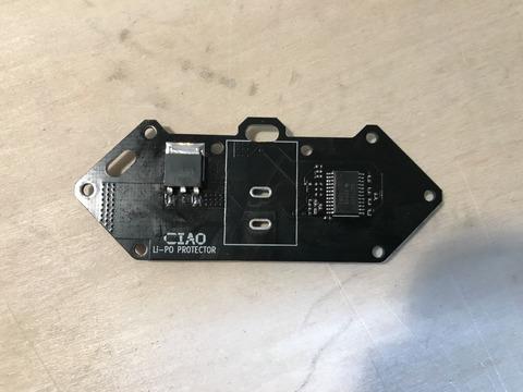 CIAO Tezukayama 2019 オフェンス 保護回路