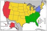 アメリカ各州とBig 5のGDP比較
