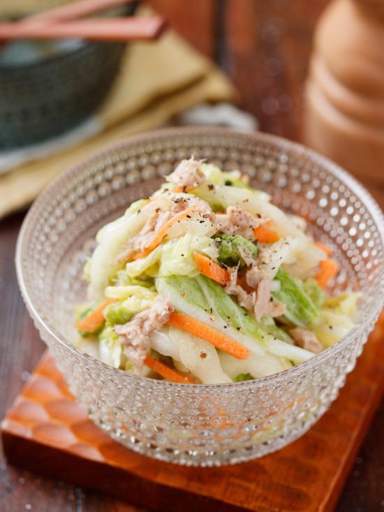 ツナ白菜2