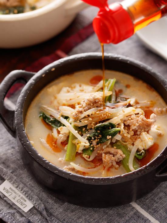坦々スープ6