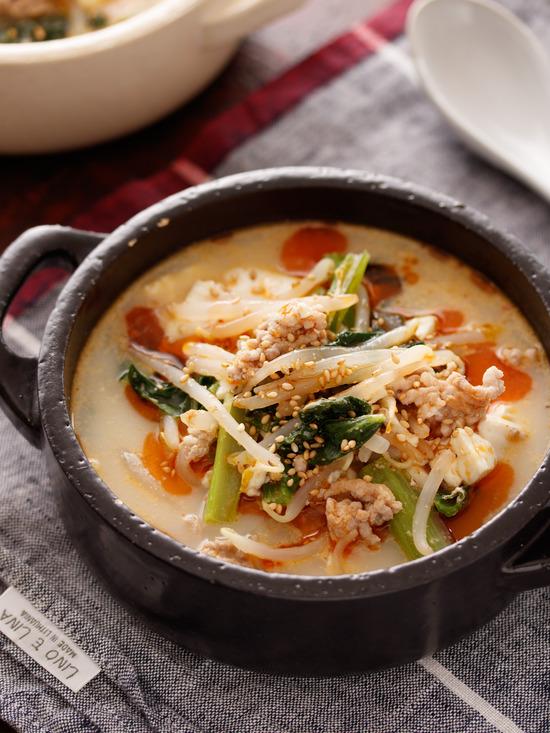 坦々スープ5