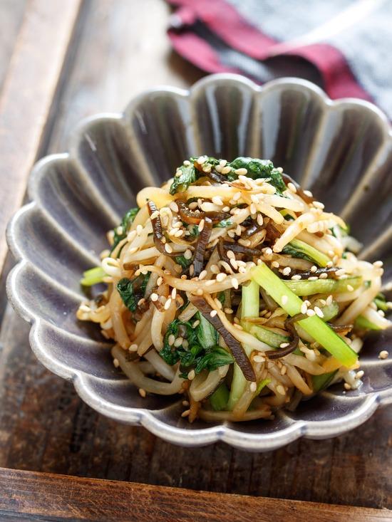 小松菜ナムル6