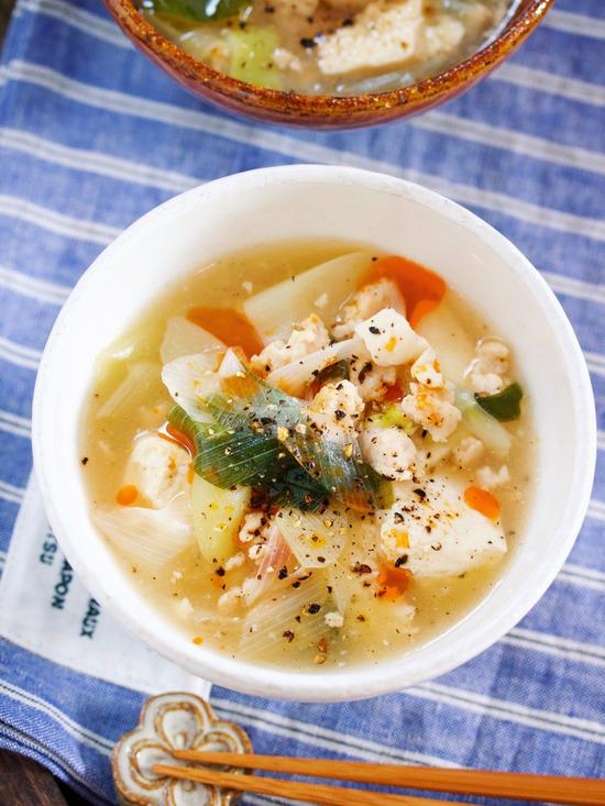 長ねぎスープ1