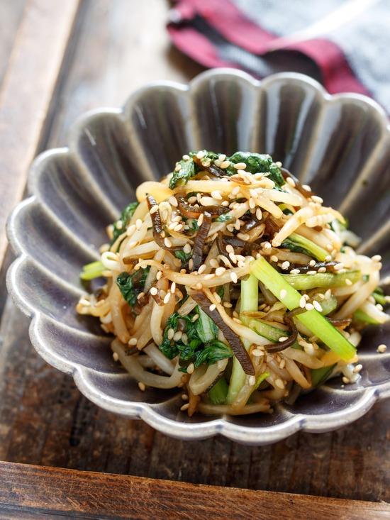 小松菜ナムル5