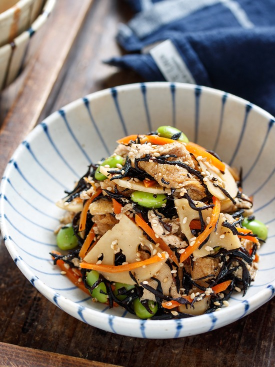 豆腐とひじきの煮物10