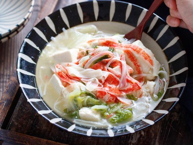 豆腐白菜カニカマ7