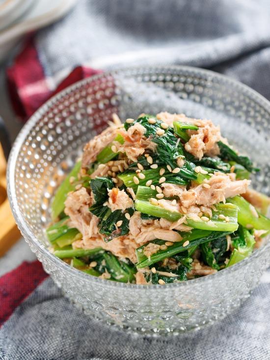 小松菜サラダ3