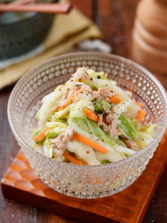 ツナ白菜3