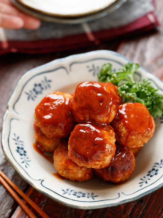 豆腐ミートボール3