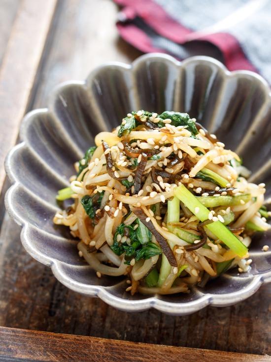 小松菜ナムル4