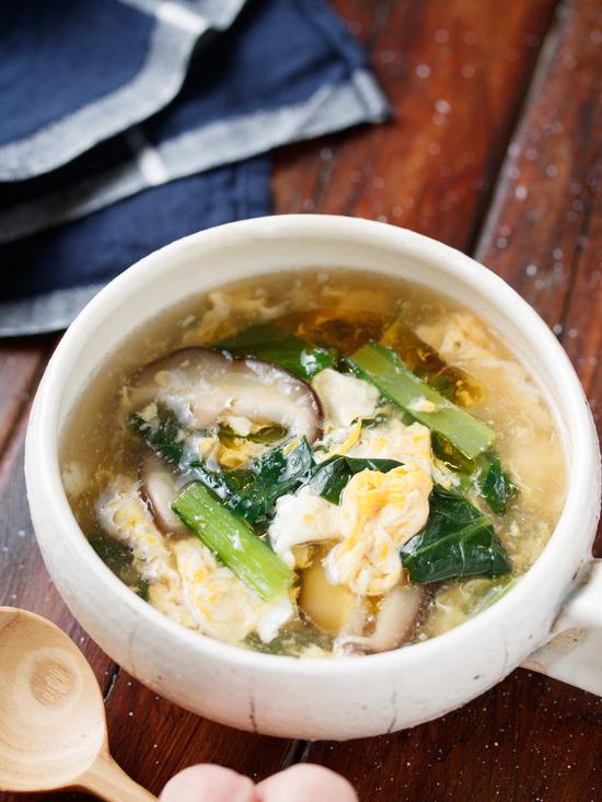 小松菜スープ5