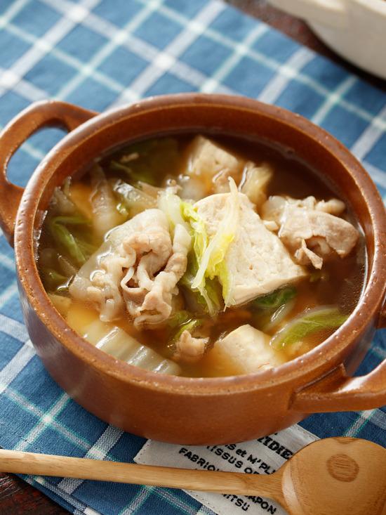 豚バラ白菜スープ6