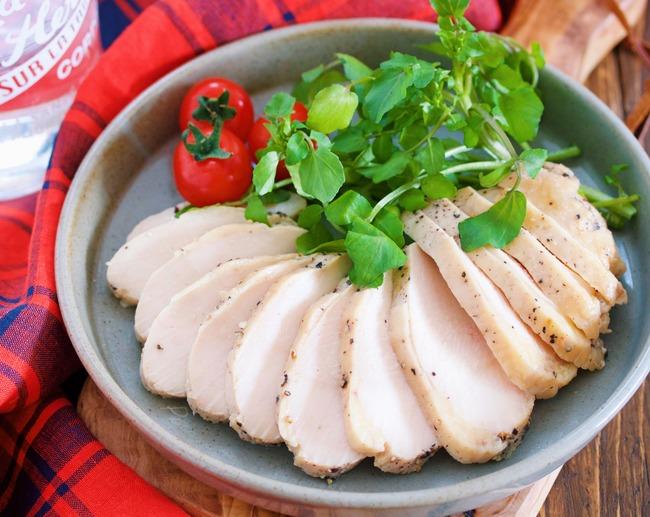 コンソメ鶏ハム3