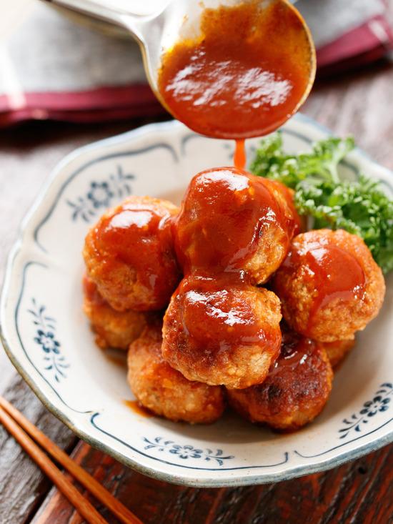 豆腐ミートボール9